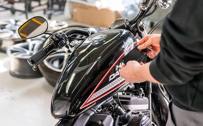 peinture carrosserie moto