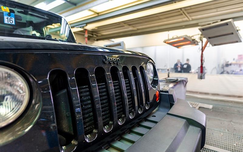 peinture carrosserie jeep