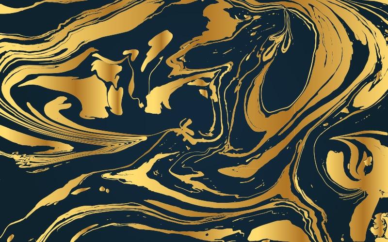 peinture hydrographique